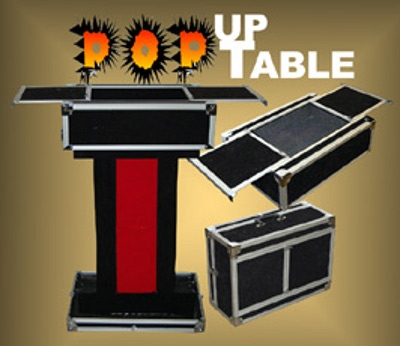 Pop Up Performer's Table